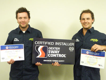 Certified Installers of Dexter Sway Control